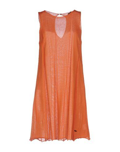 Короткое платье B.YU. Цвет: оранжевый