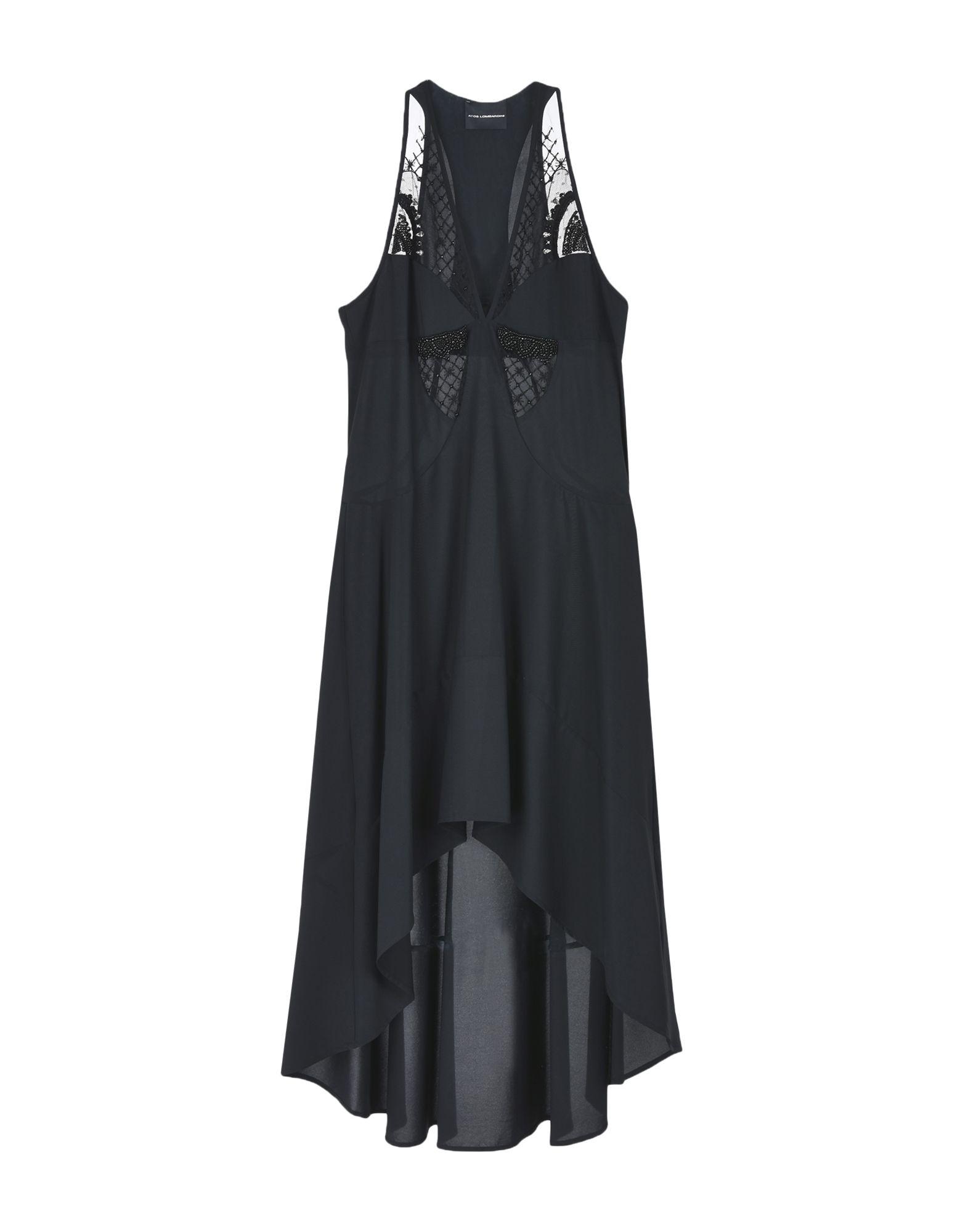 ATOS LOMBARDINI Платье длиной 3/4 lisa corti платье длиной 3 4