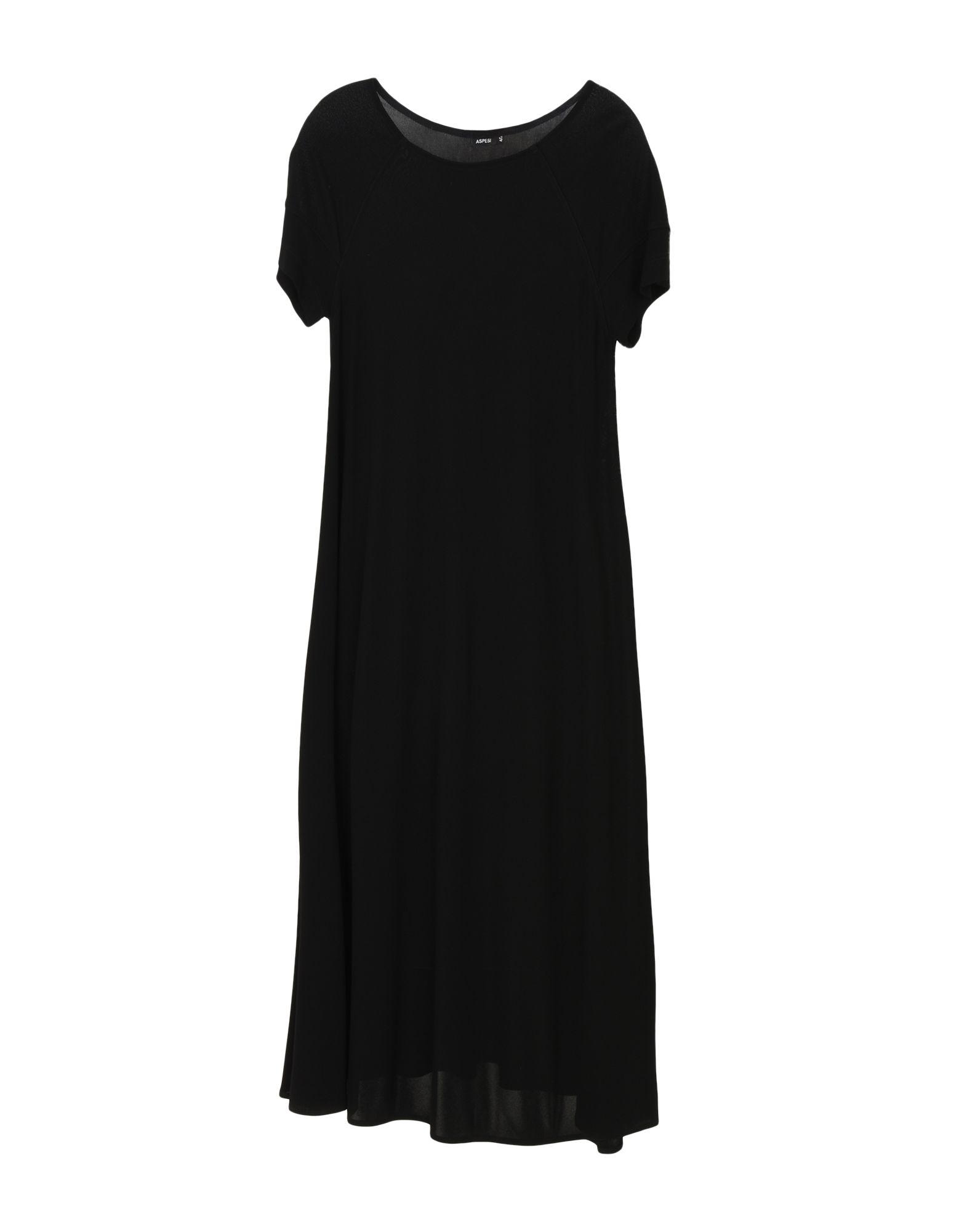 ASPESI Платье длиной 3/4 lisa corti платье длиной 3 4