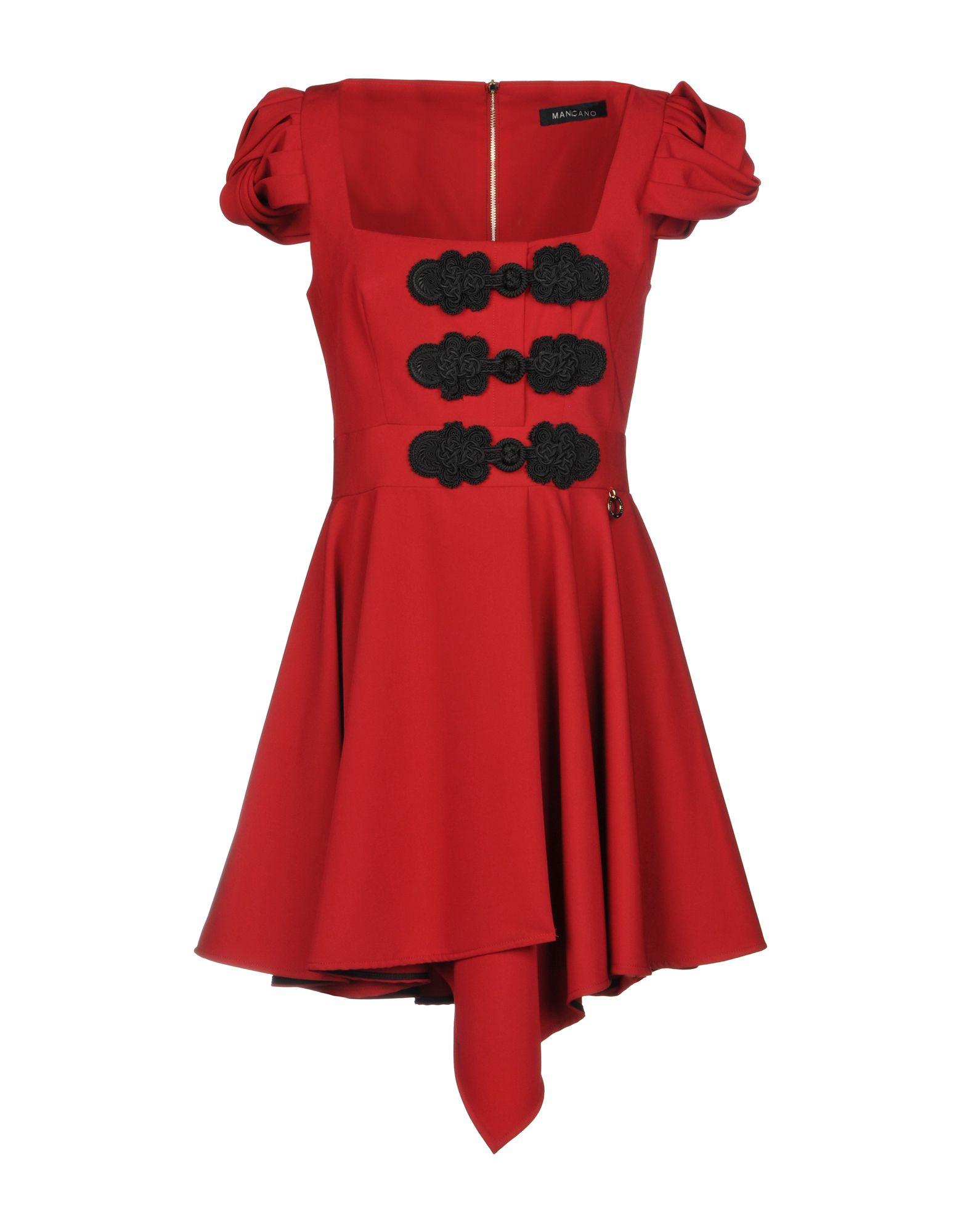 MANGANO Short Dress in Red