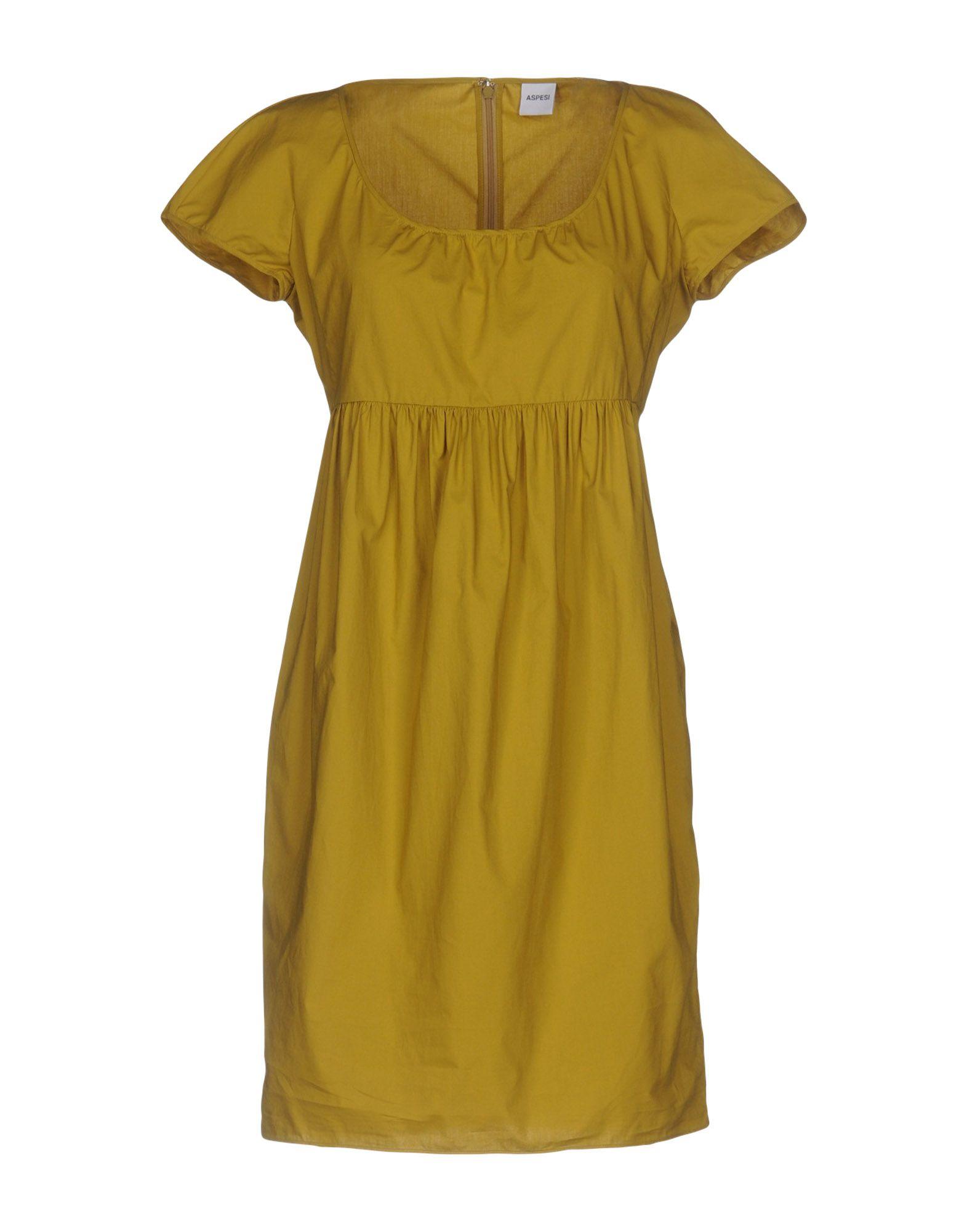 ASPESI Короткое платье lisa corti короткое платье