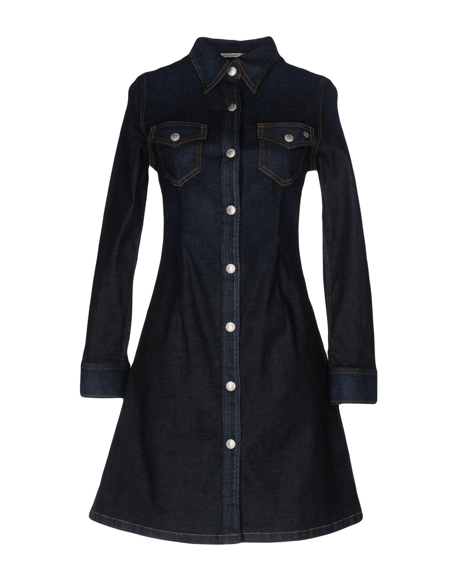 ALEXACHUNG for AG Jeans Короткое платье