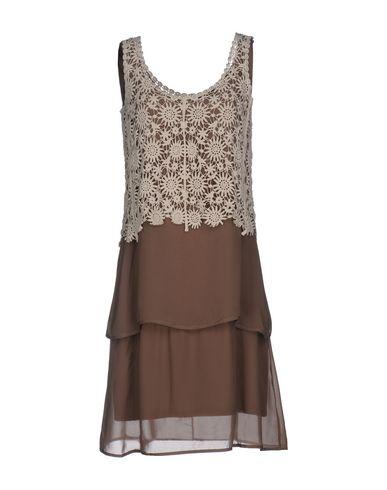 Короткое платье JUST FOR YOU. Цвет: слоновая кость