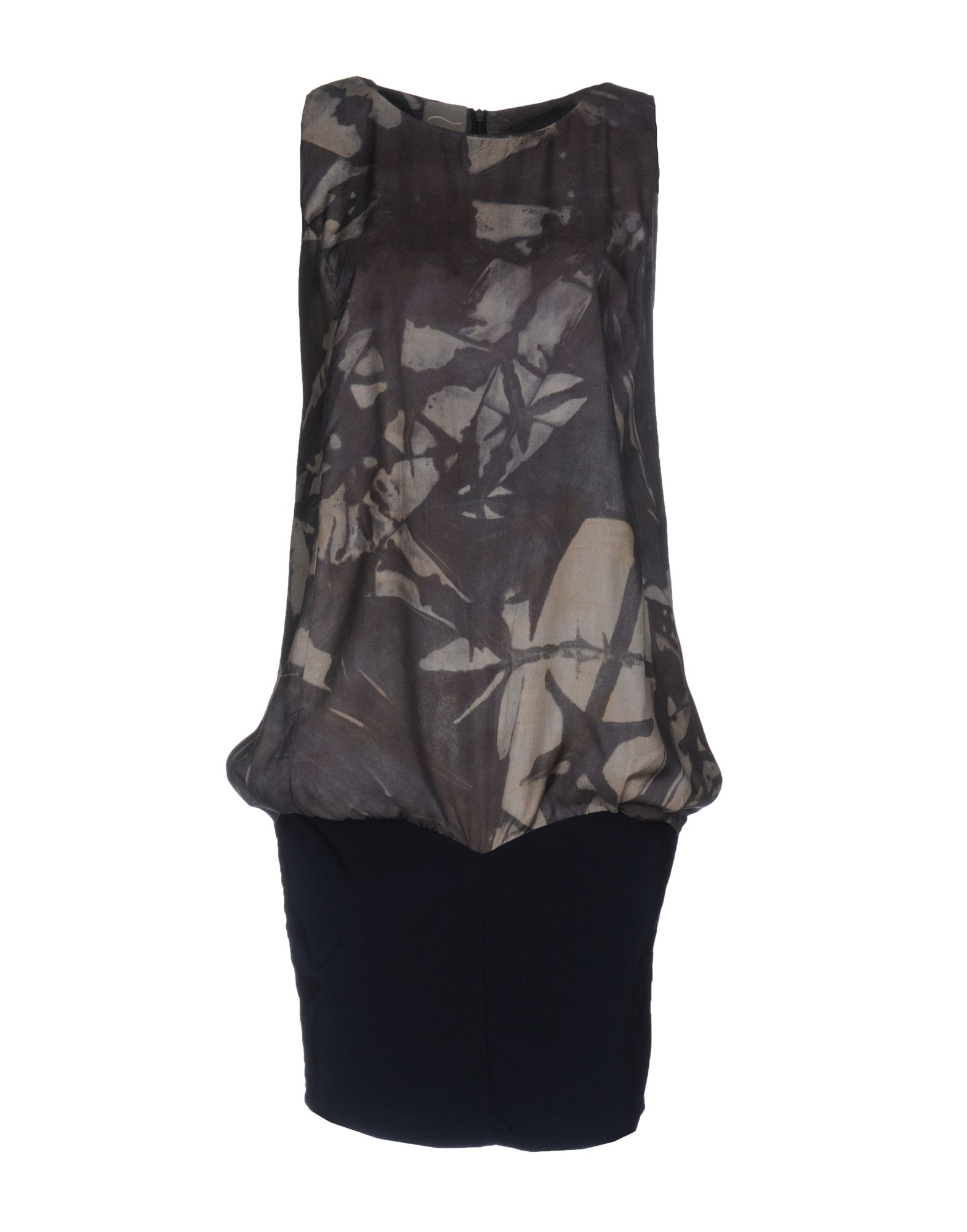 цена MALLONI Короткое платье онлайн в 2017 году