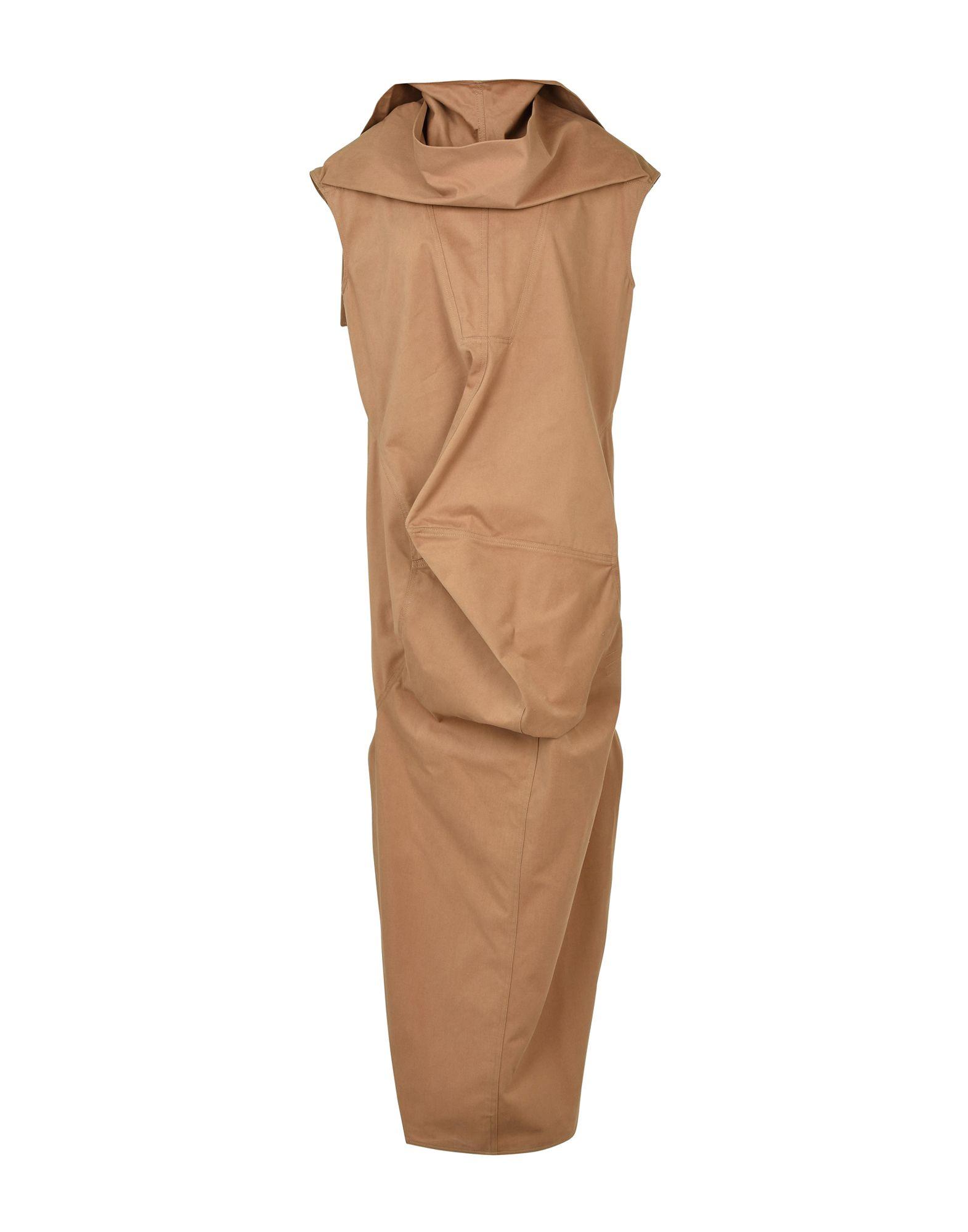 где купить  DRKSHDW by RICK OWENS Длинное платье  по лучшей цене