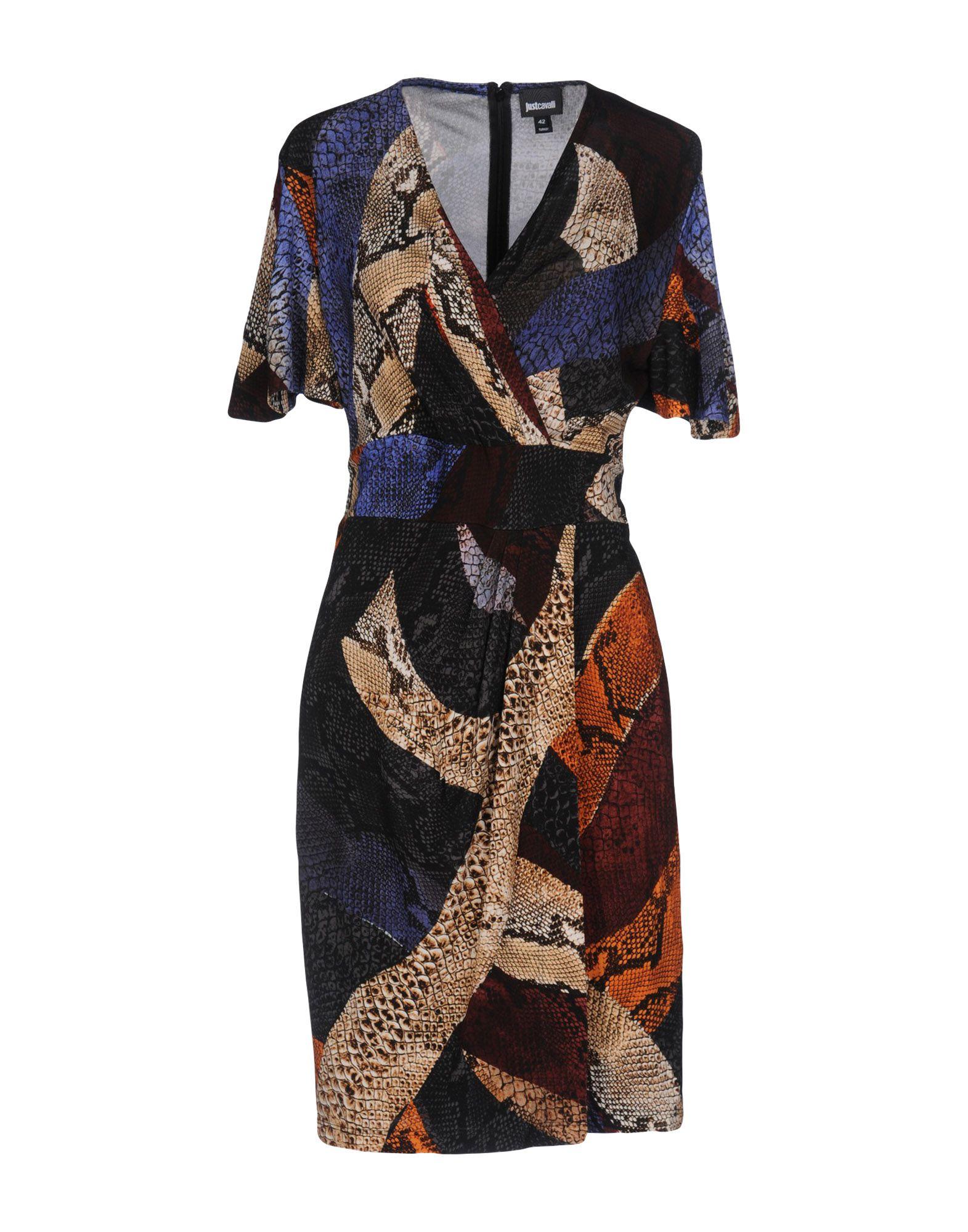 JUST CAVALLI Короткое платье lisa corti короткое платье
