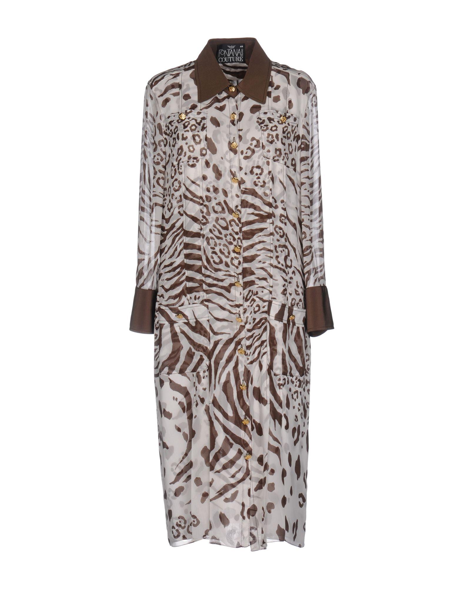 цена FONTANA COUTURE Платье до колена онлайн в 2017 году