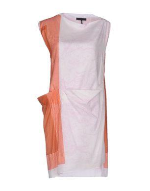 JIL SANDER Damen Kurzes Kleid Farbe Weiß Größe 5