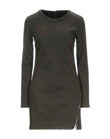 Фото - Женское короткое платье RTA темно-зеленого цвета