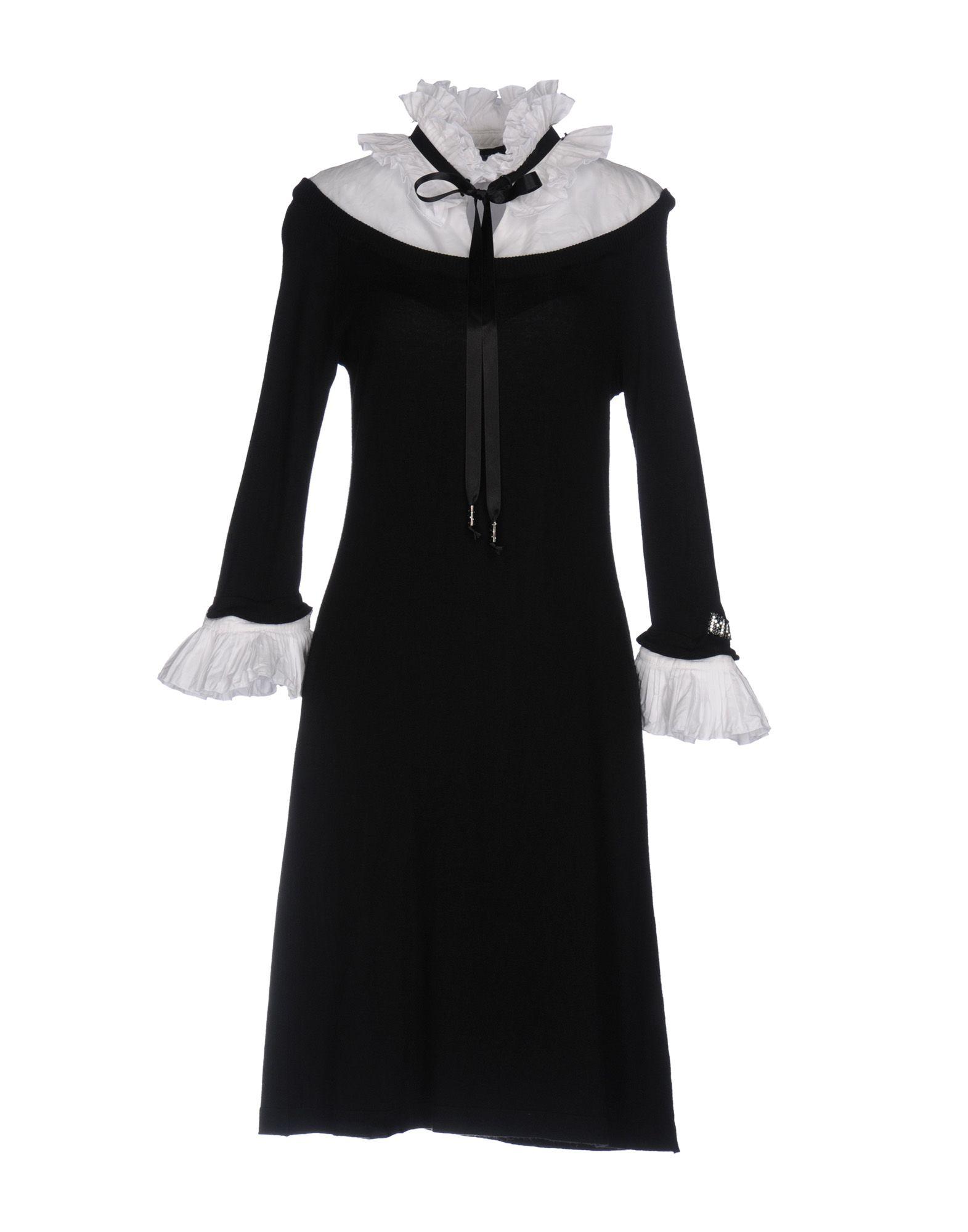 MARIA GRAZIA SEVERI Короткое платье платье полуприлегающее с отделкой maria grazia severi платье полуприлегающее с отделкой