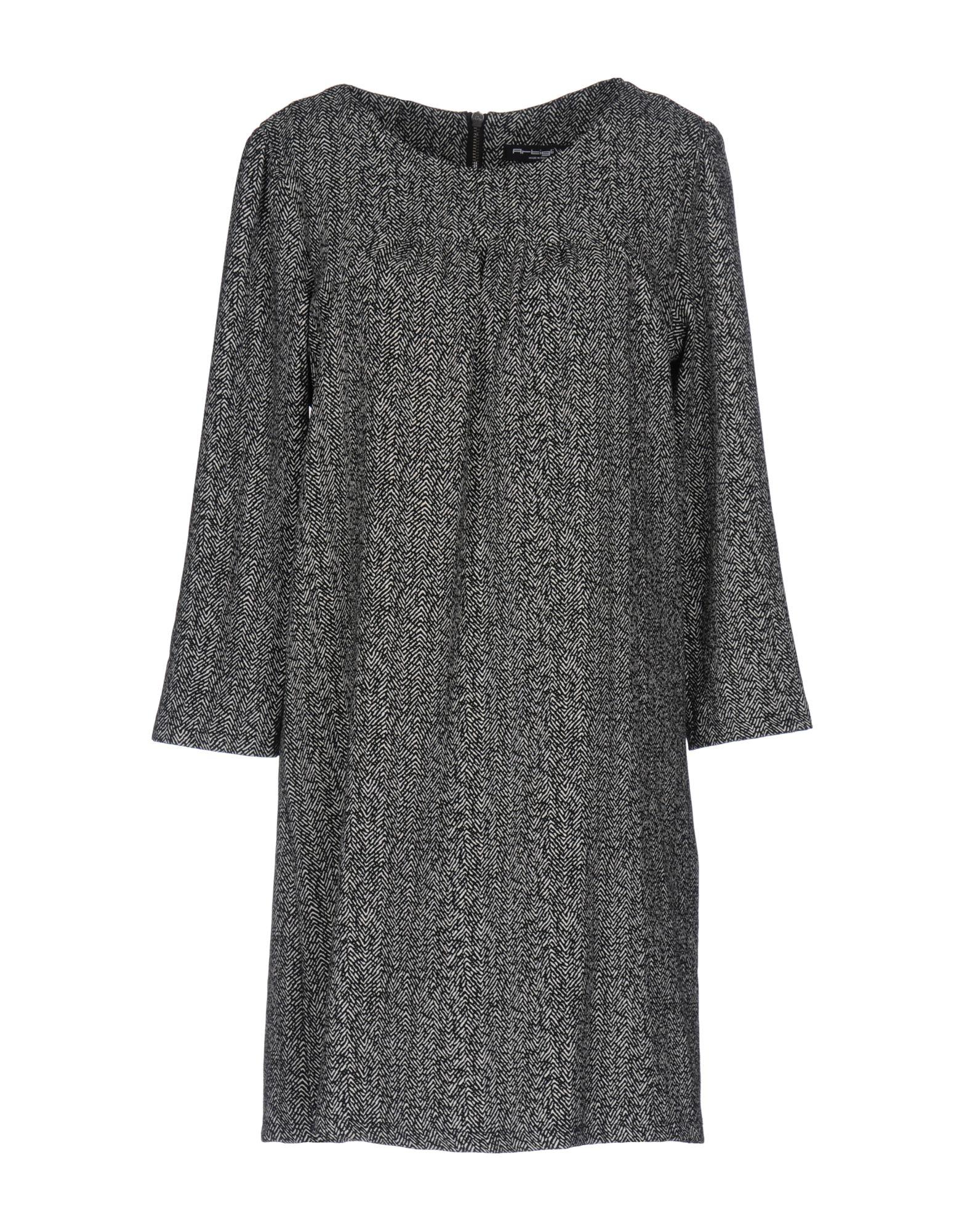 ARTIGLI Короткое платье artigli юбка для девочки a07401 серый artigli
