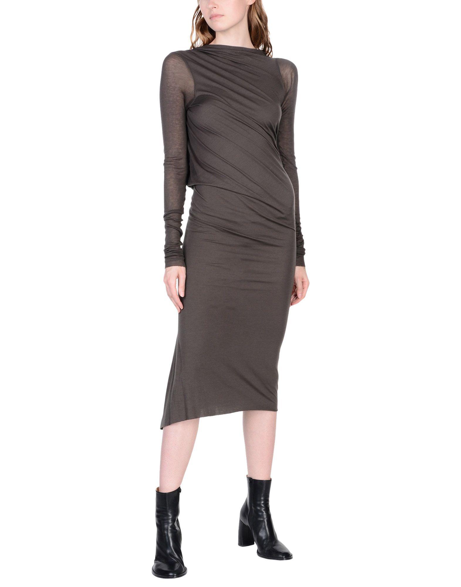 RICK OWENS LILIES Платье длиной 3/4