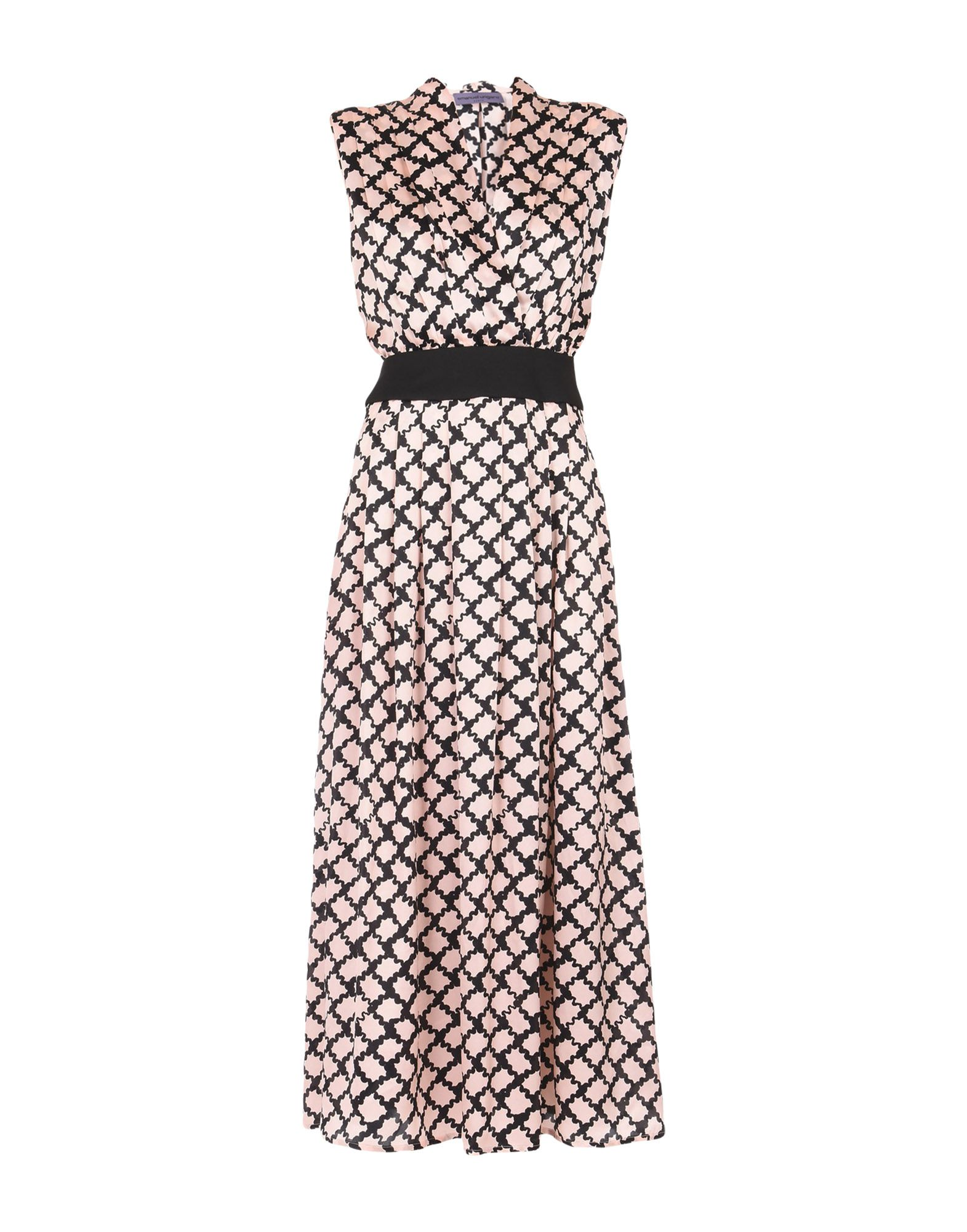 EMANUEL UNGARO Длинное платье платье