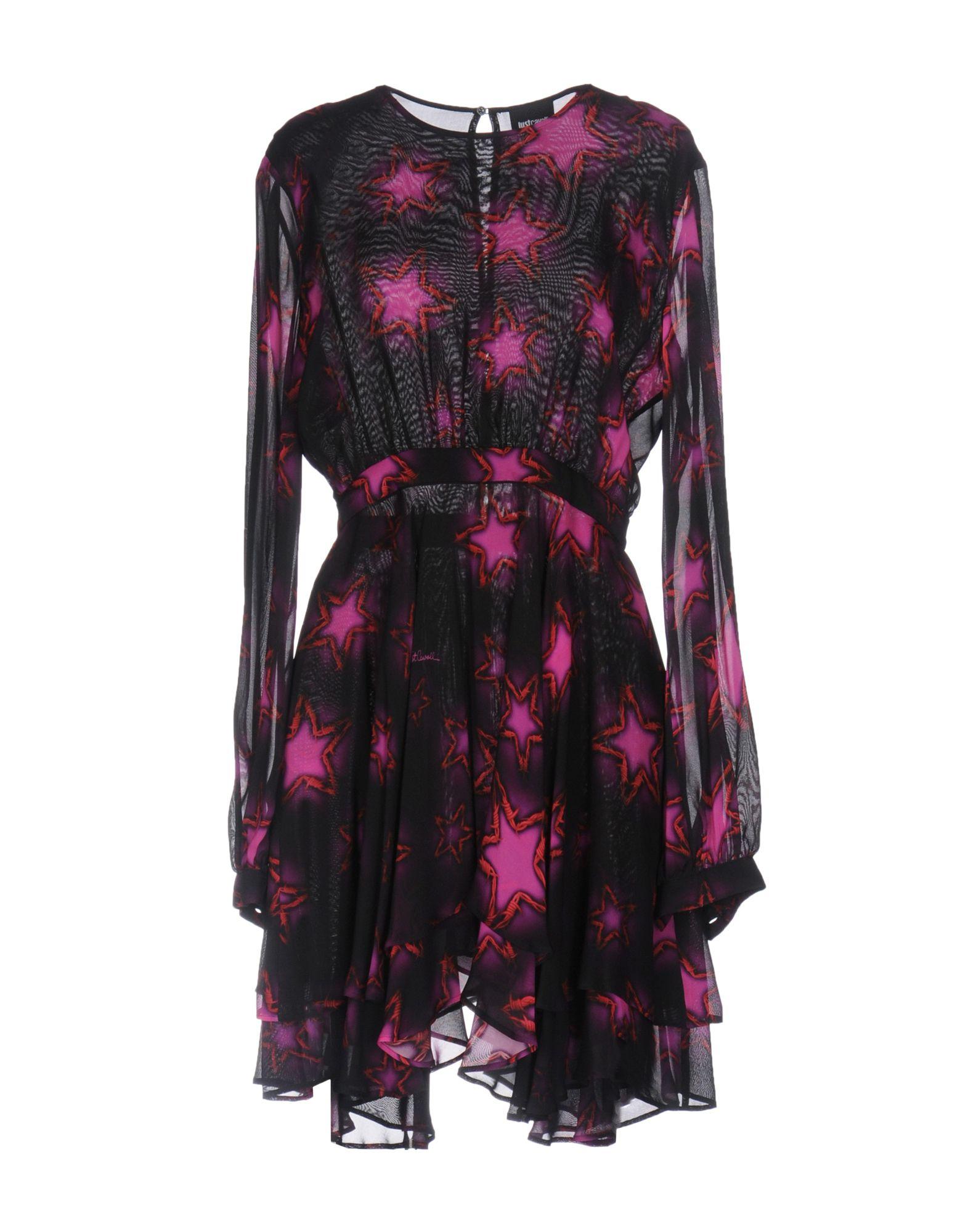 Фото JUST CAVALLI Короткое платье. Купить с доставкой