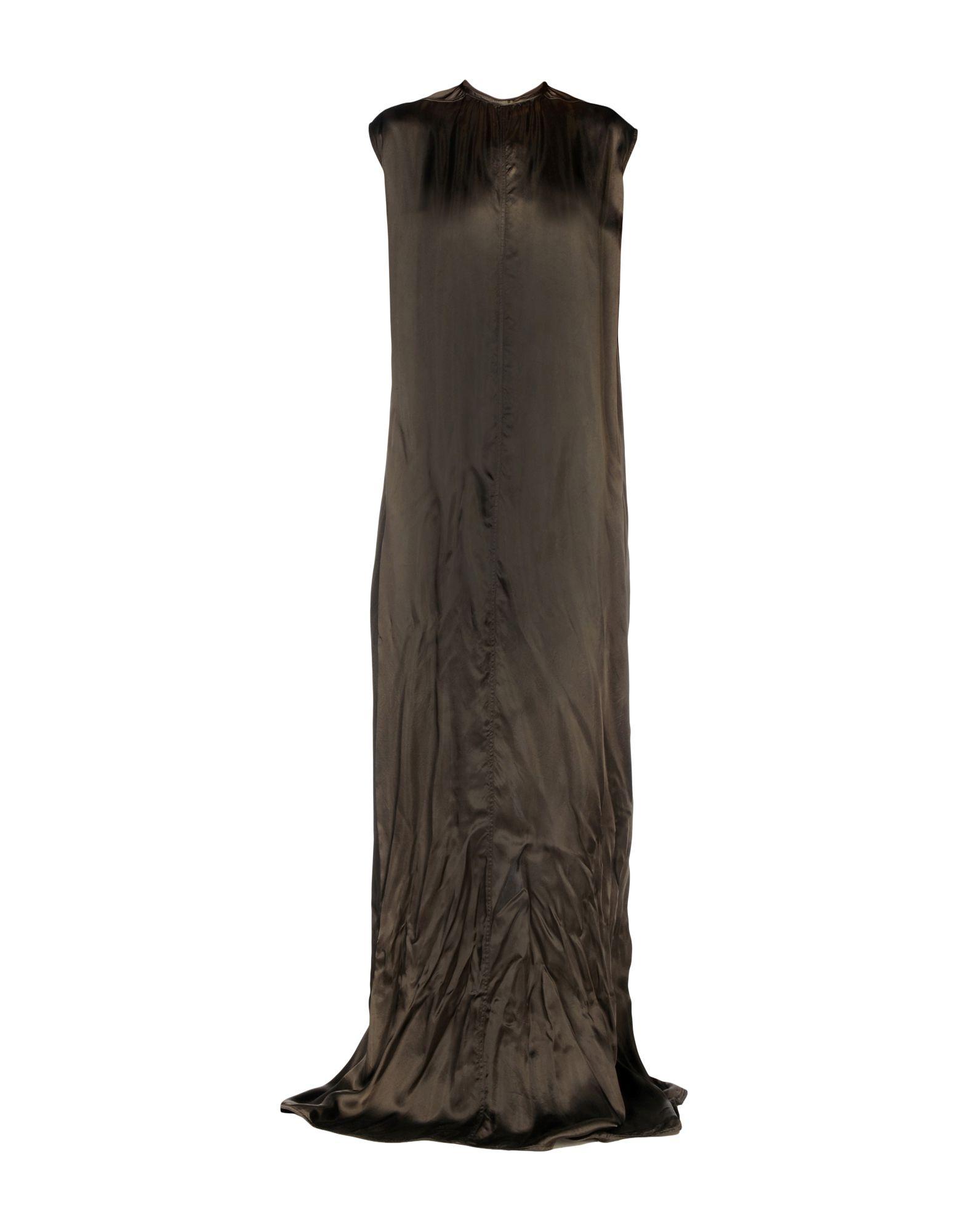 RICK OWENS Длинное платье rick owens длинное платье