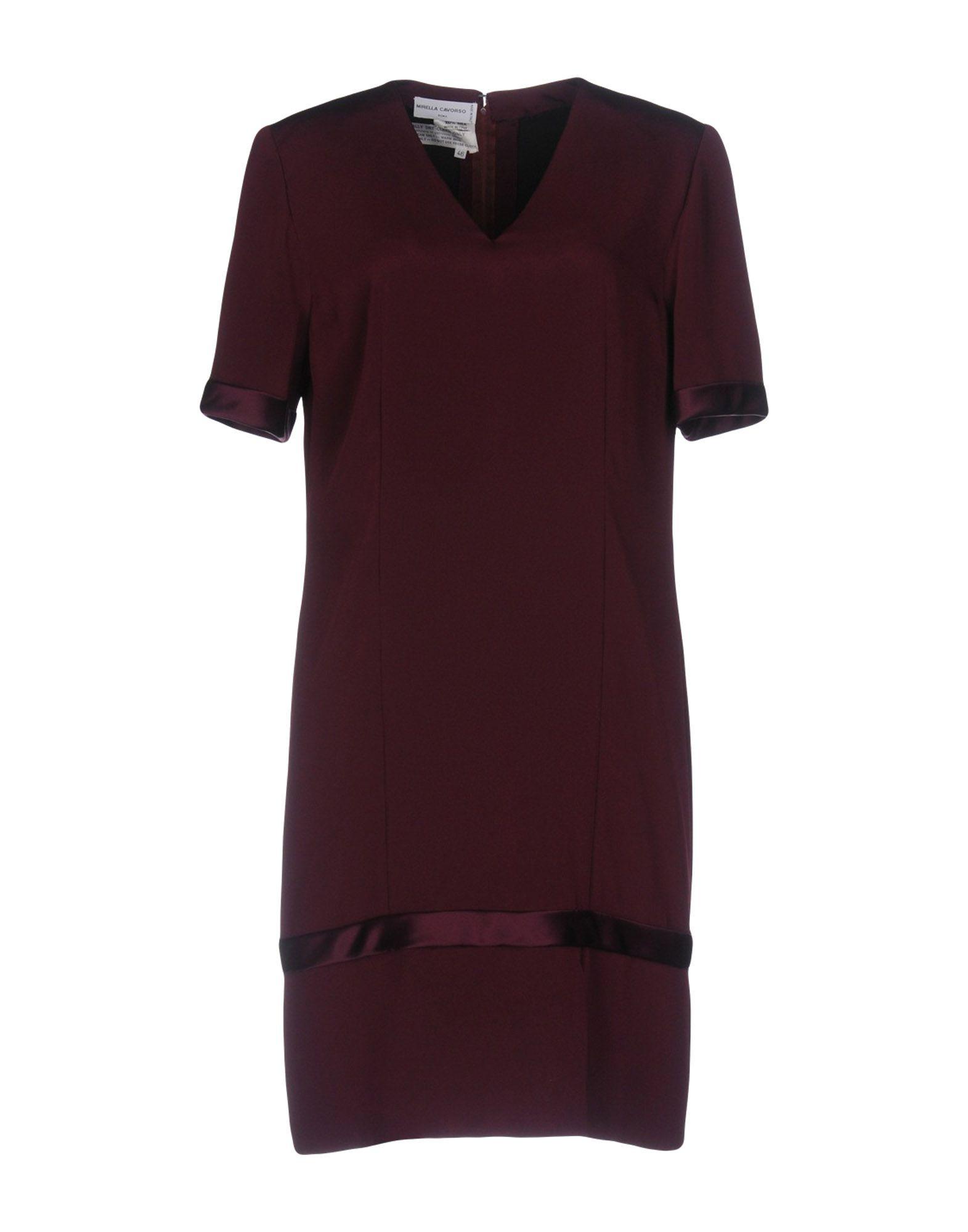 все цены на MIRELLA CAVORSO Короткое платье онлайн