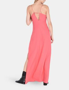 ARMANI EXCHANGE V-NECK COLUMN MAXI DRESS Maxi dress Woman r