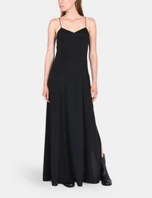 ARMANI EXCHANGE V-NECK COLUMN MAXI DRESS Maxi dress Woman a