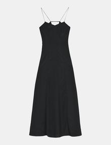 ARMANI EXCHANGE V-NECK COLUMN MAXI DRESS Maxi dress Woman b