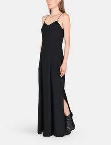 ARMANI EXCHANGE V-NECK COLUMN MAXI DRESS Maxi dress Woman d