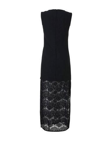 Фото 2 - Женское длинное платье MAISON DIX черного цвета