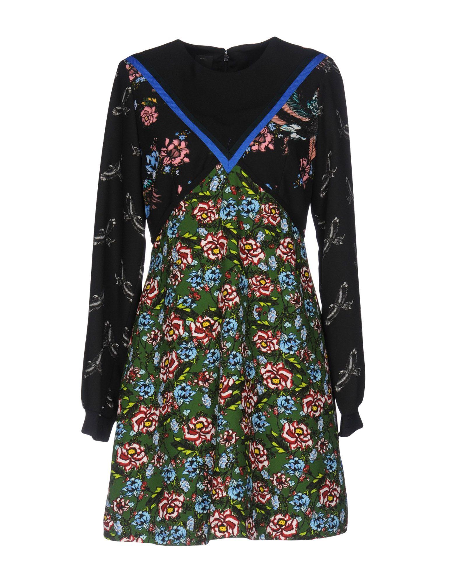 PINKO Damen Kurzes Kleid3 schwarz