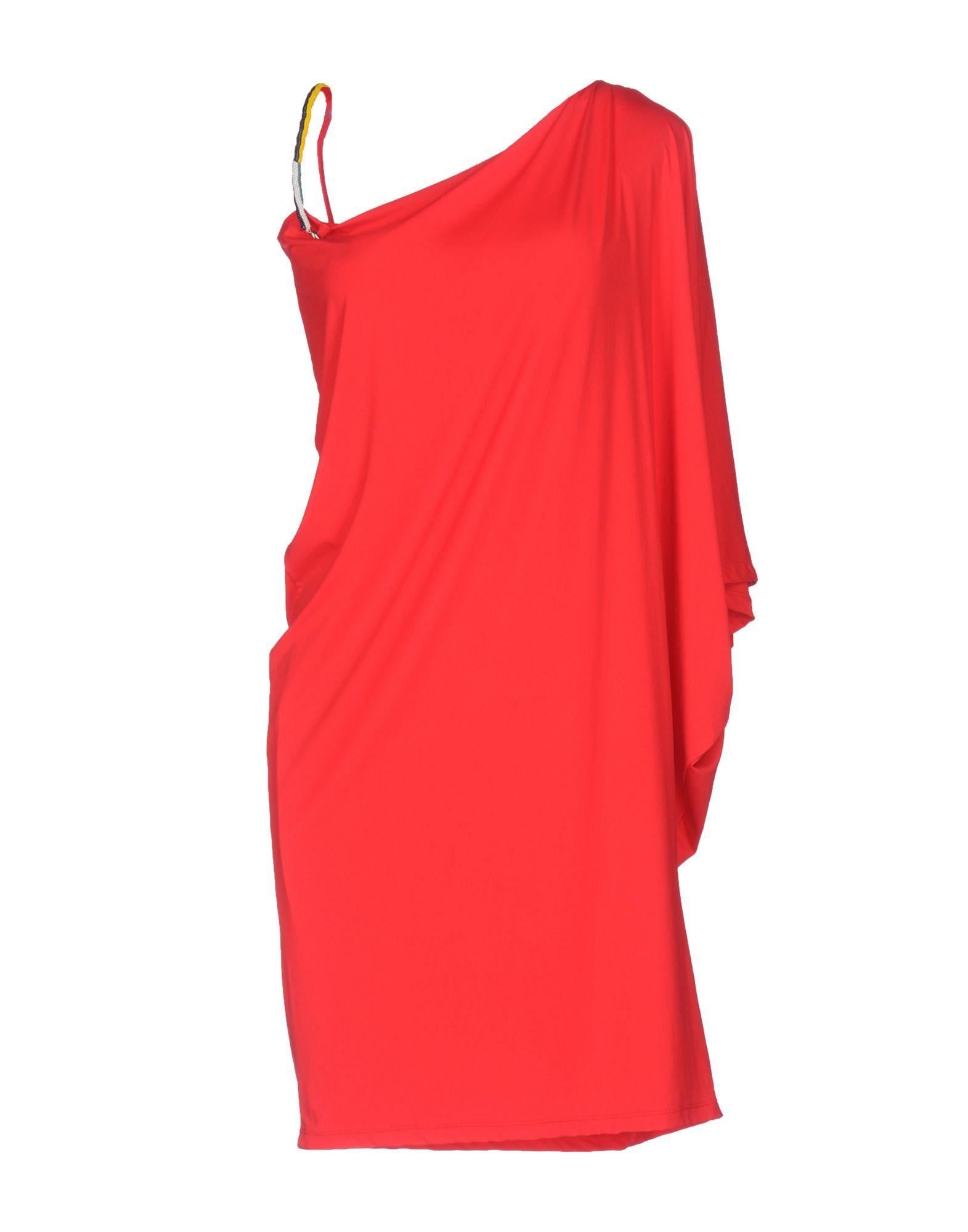 VANDA CATUCCI Knee-Length Dress in Red