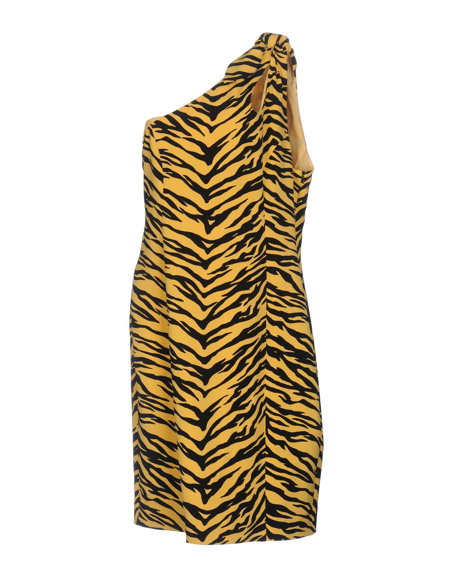 MOSCHINO CHEAP AND CHIC Damen Knielanges Kleid Farbe Gelb Größe 7