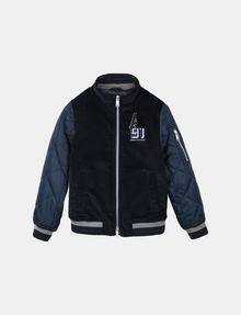 ARMANI EXCHANGE BOYS NYLON VELOUR LOGO BOMBER JACKET Jacket Man f