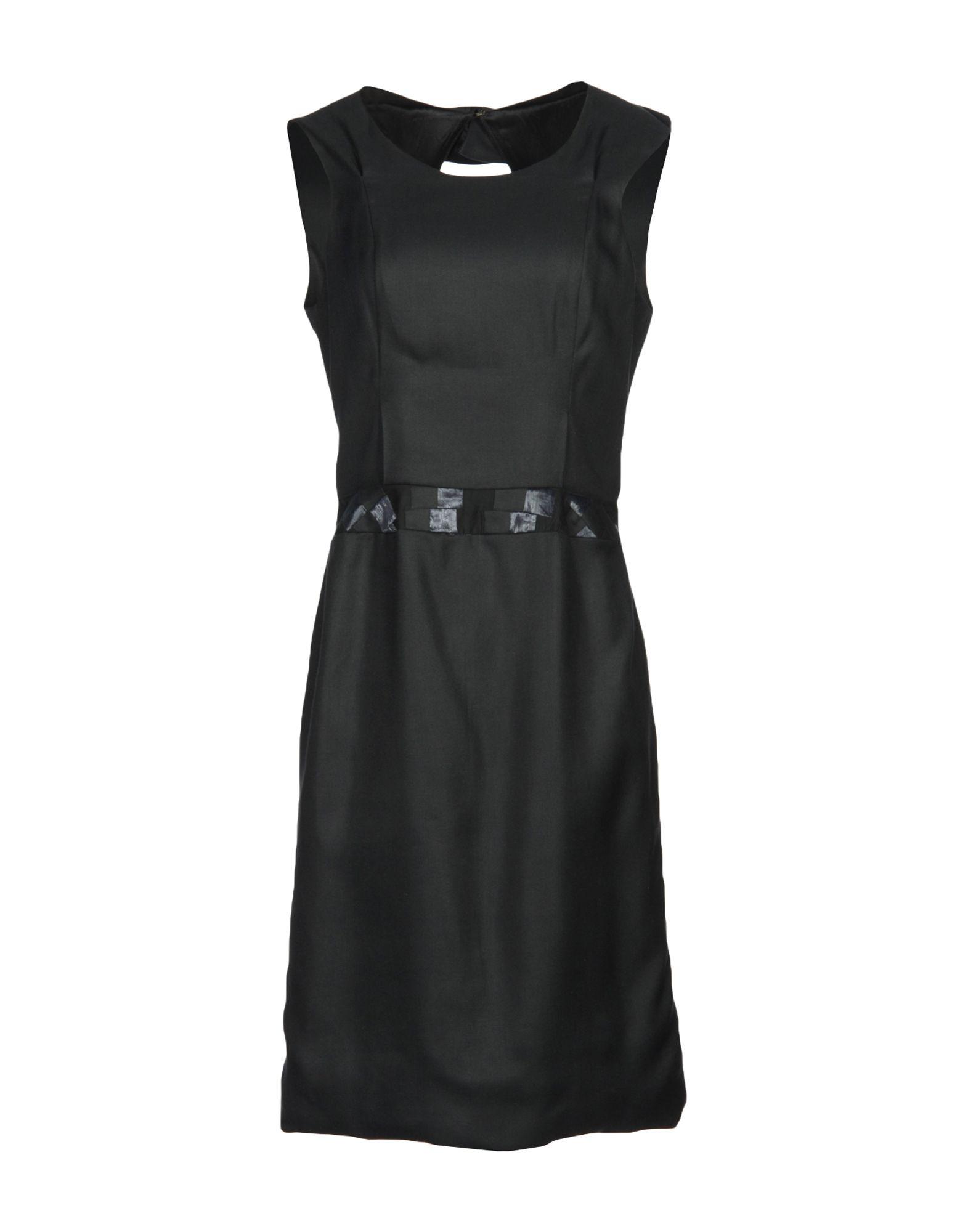 JASMIN SHOKRIAN Knee-Length Dress in Black