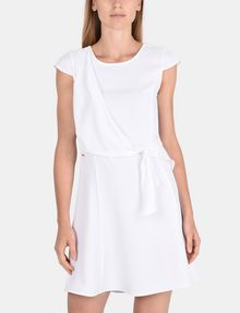 ARMANI EXCHANGE DRAPED TIE-WAIST DRESS Mini dress Woman f
