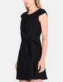 ARMANI EXCHANGE DRAPED TIE-WAIST DRESS Mini dress Woman d