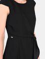 ARMANI EXCHANGE DRAPED TIE-WAIST DRESS Mini dress Woman e