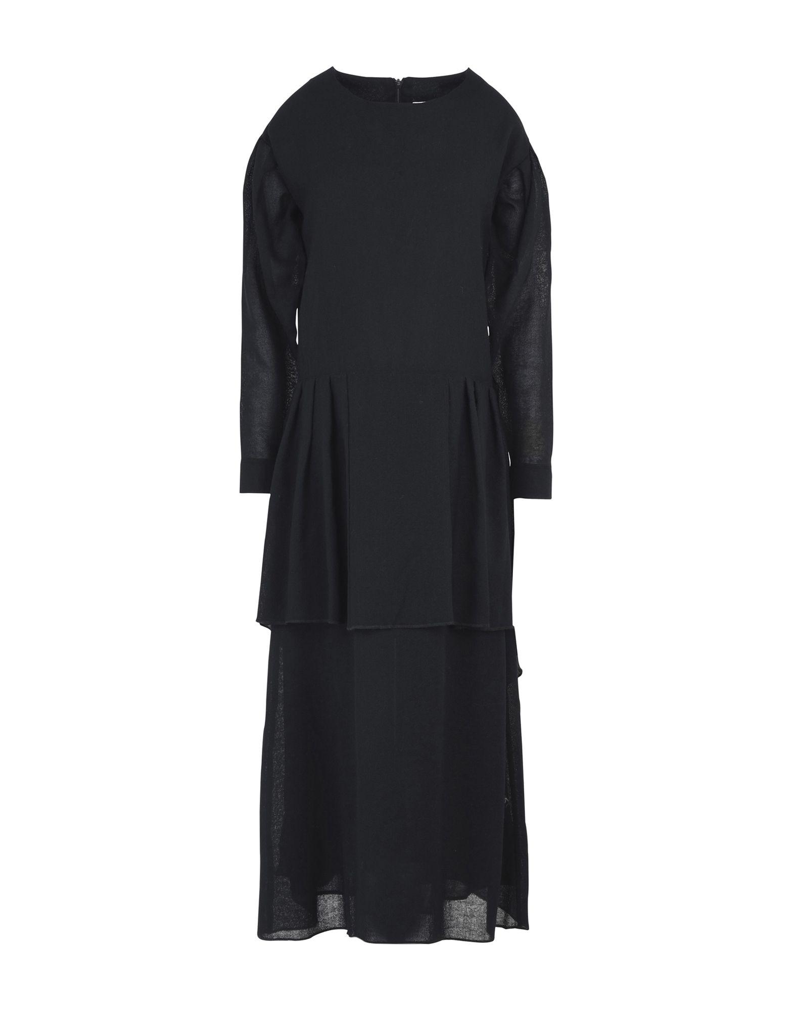 MANOSTORTI Длинное платье manostorti короткое платье