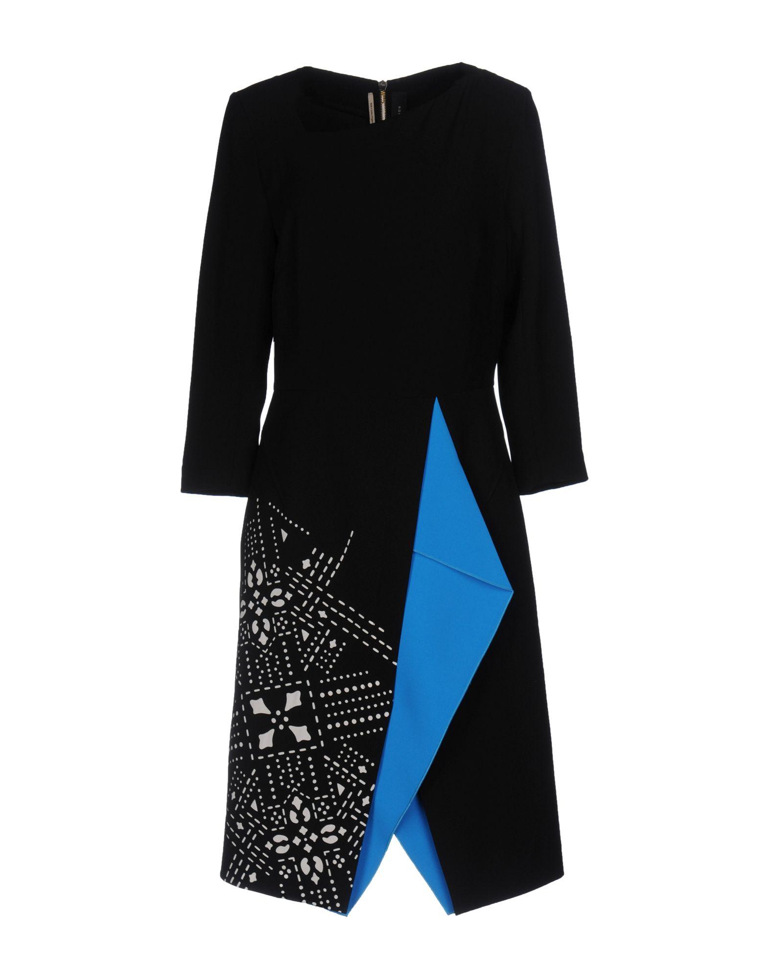 ROLAND MOURET Платье до колена roland cube 10gx