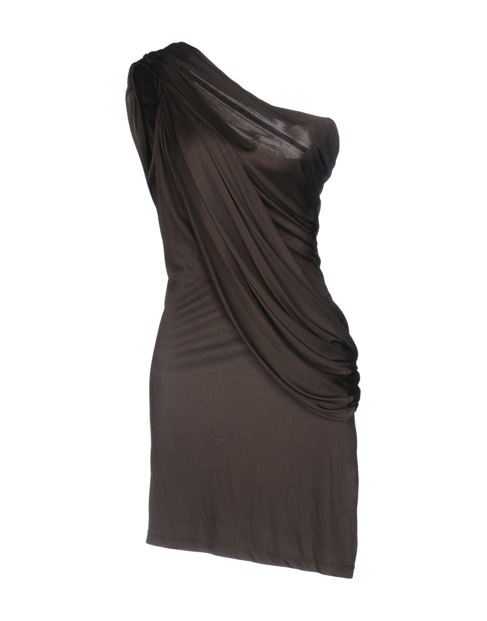 где купить LES HOMMES - FEMME Короткое платье по лучшей цене