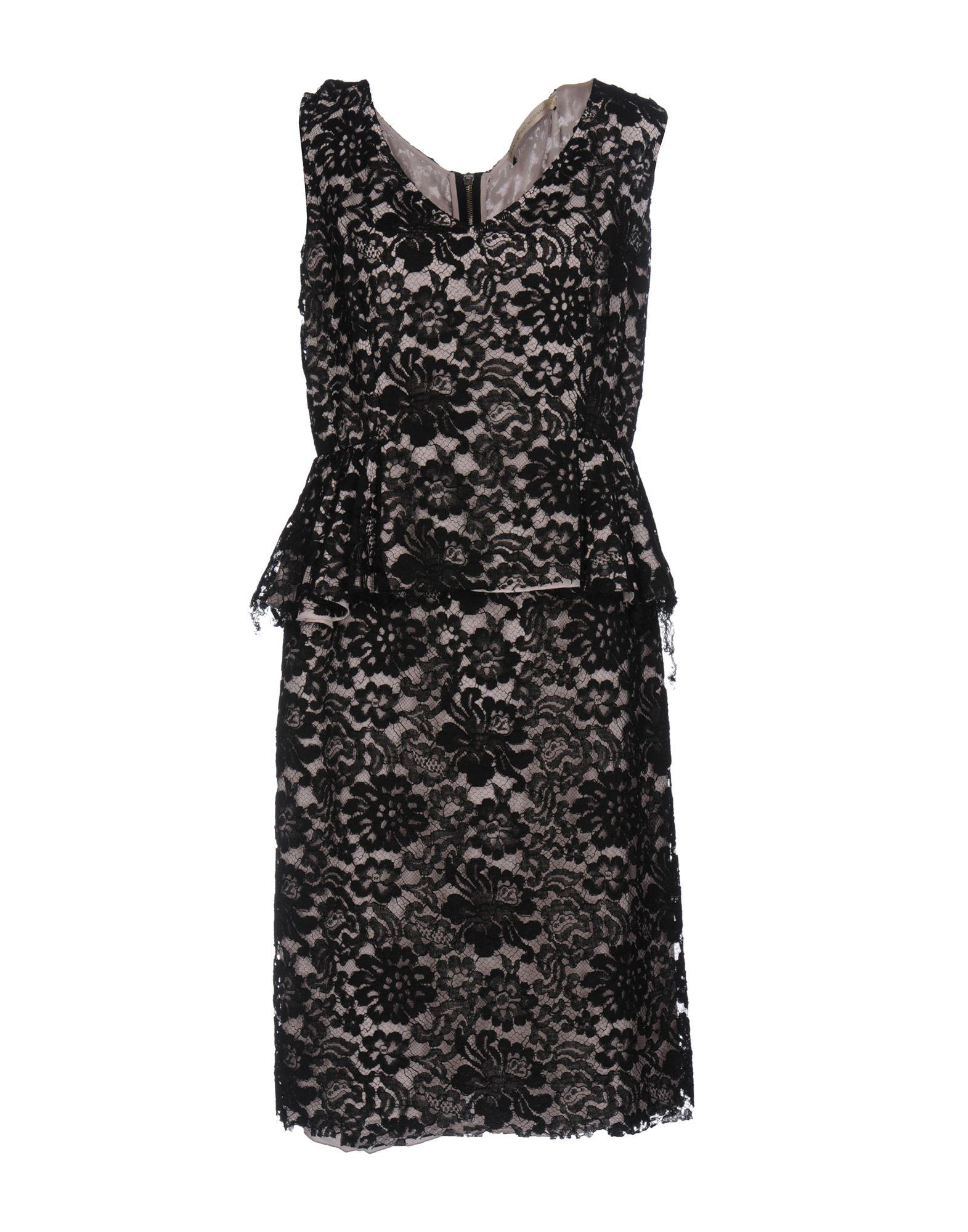 FRANCESCO SCOGNAMIGLIO Платье до колена цена 2017
