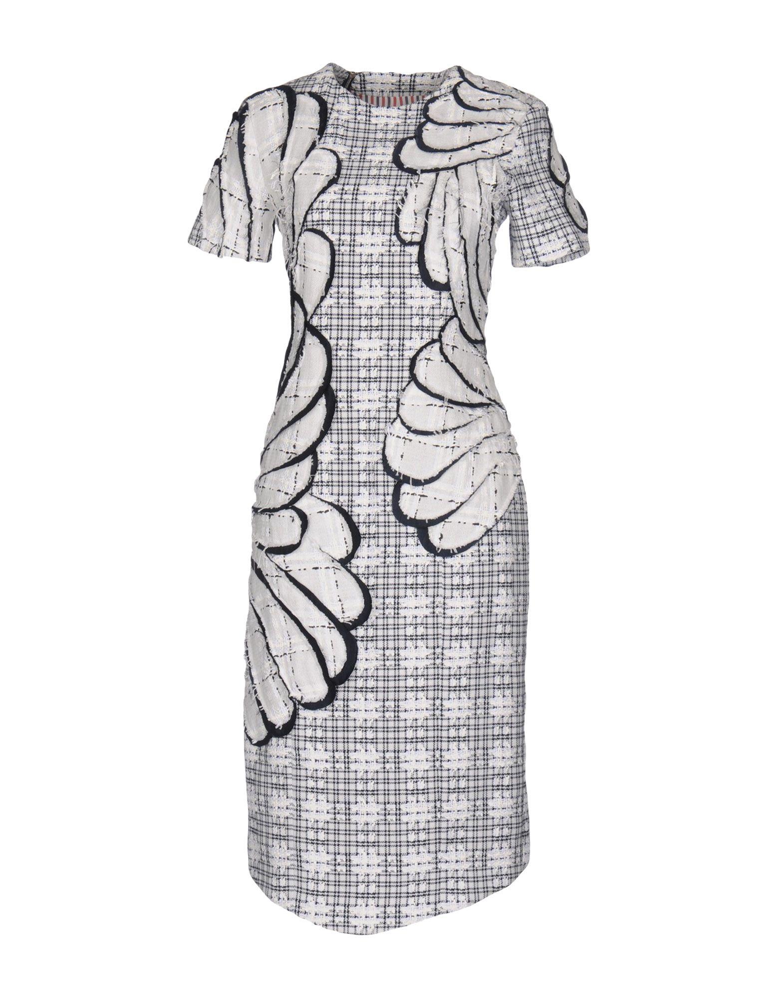 где купить  THOM BROWNE Платье до колена  по лучшей цене