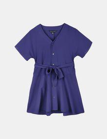 ARMANI EXCHANGE GIRLS TIE-WAIST SWING DRESS Mini dress [*** pickupInStoreShipping_info ***] f