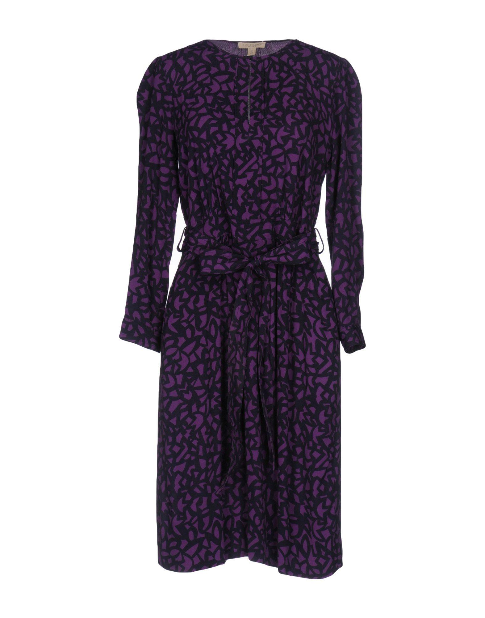 BURBERRY Платье до колена burberry кружевное платье