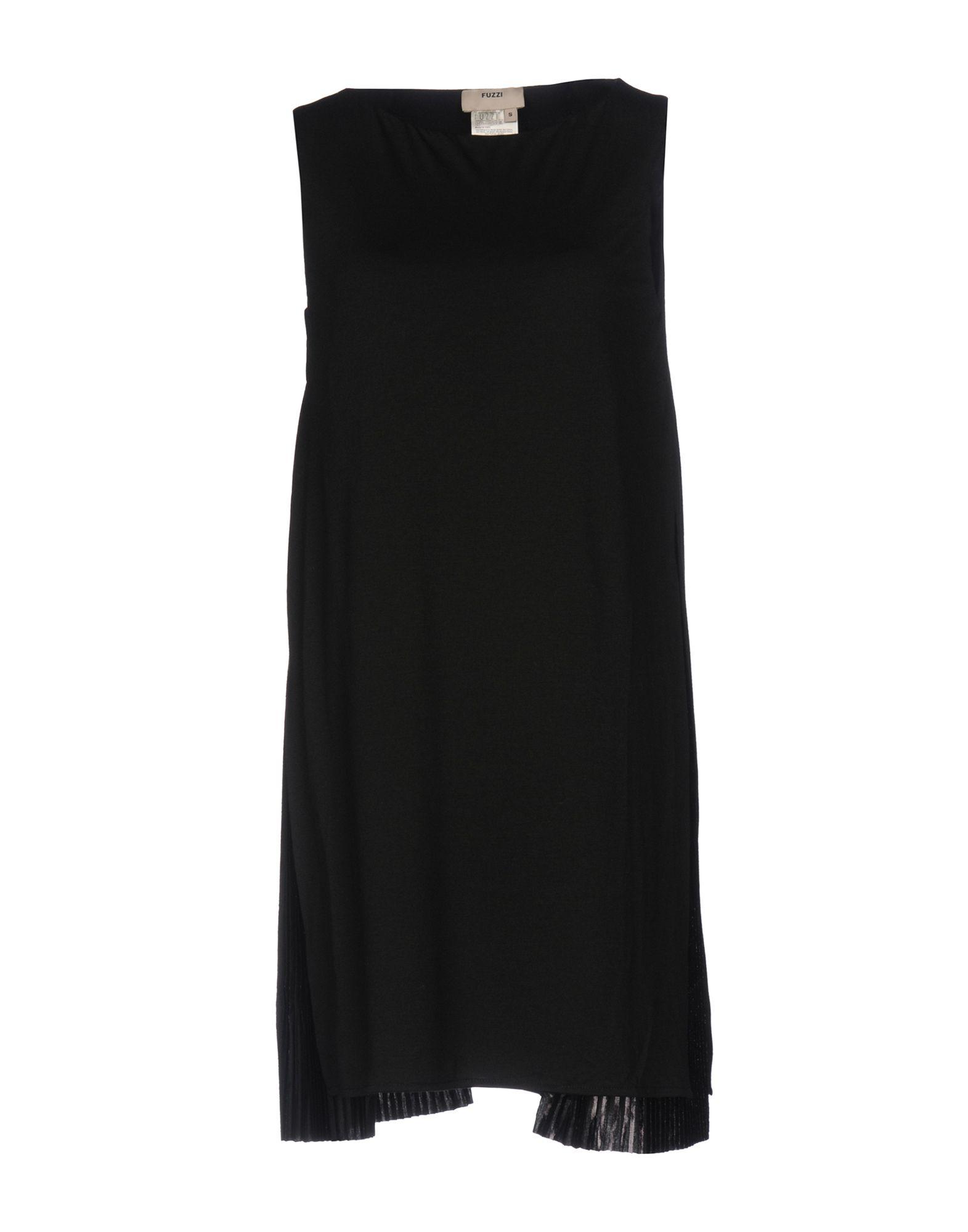 Фото FUZZI Короткое платье. Купить с доставкой