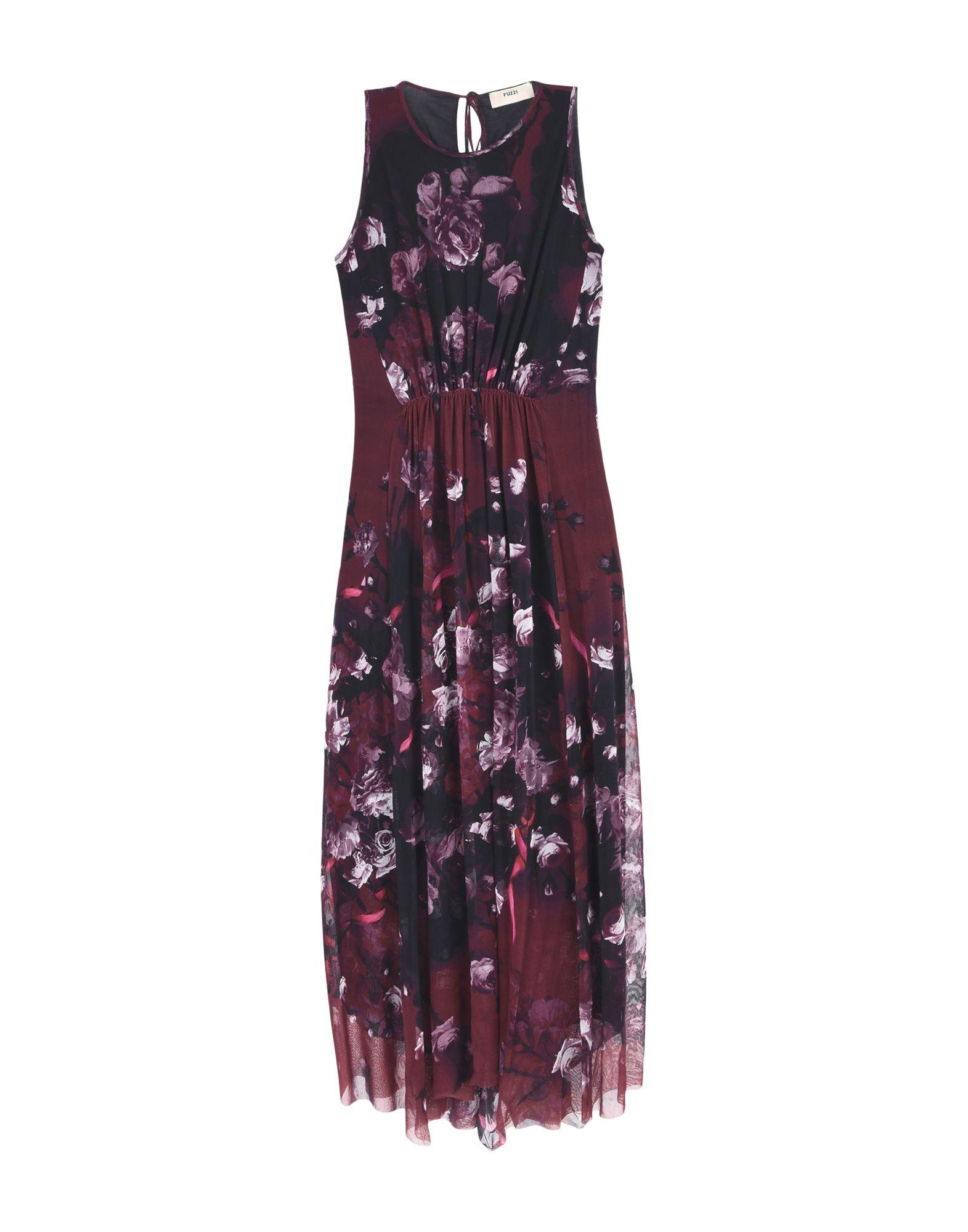 купить FUZZI Длинное платье дешево