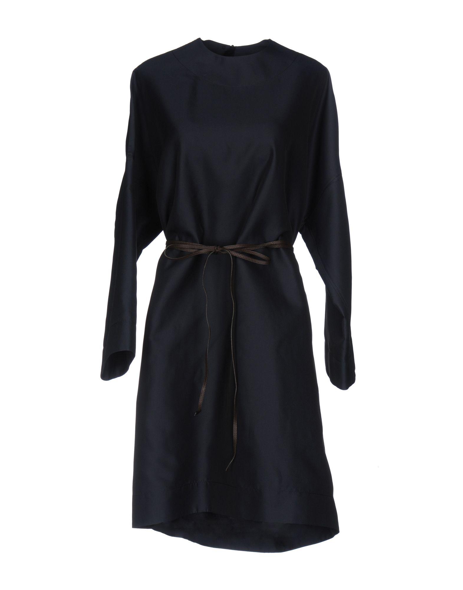 LANVIN Платье до колена lanvin кожаные сапоги