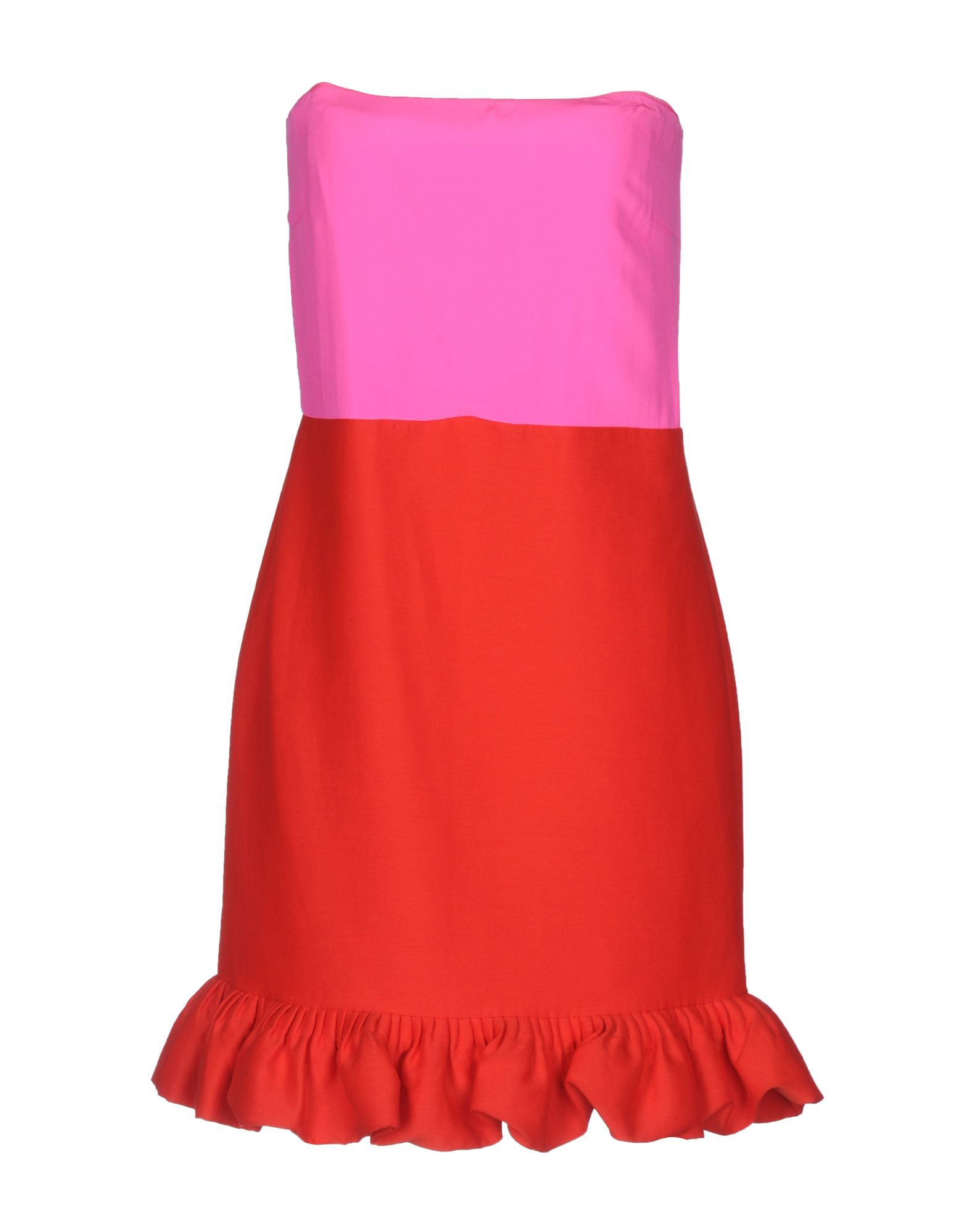 VICTORIA BECKHAM Короткое платье victoria victoria beckham платье до колена