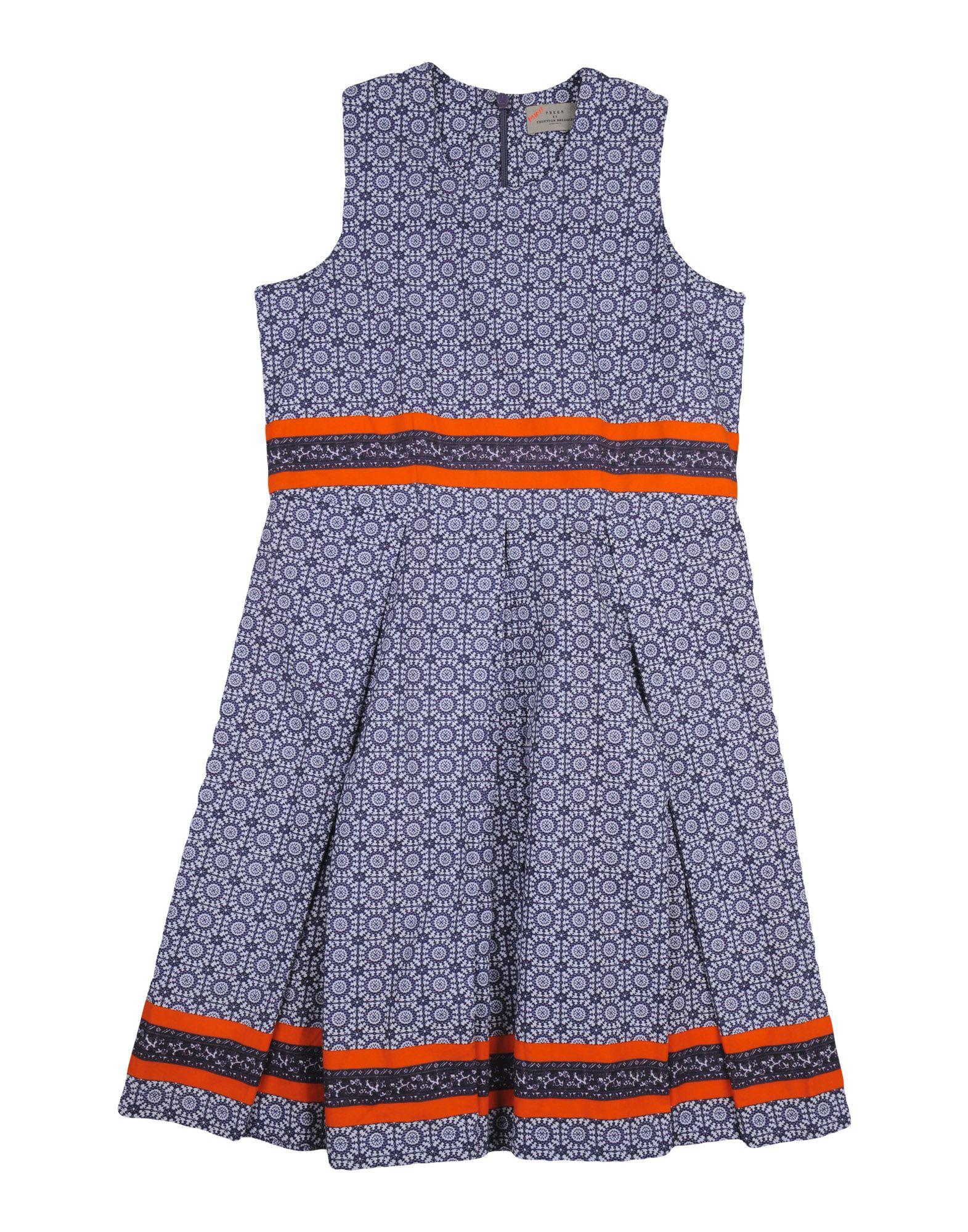 PREEN by THORNTON BREGAZZI Mädchen 9-16 jahre Kleid Farbe Dunkelblau Größe 2