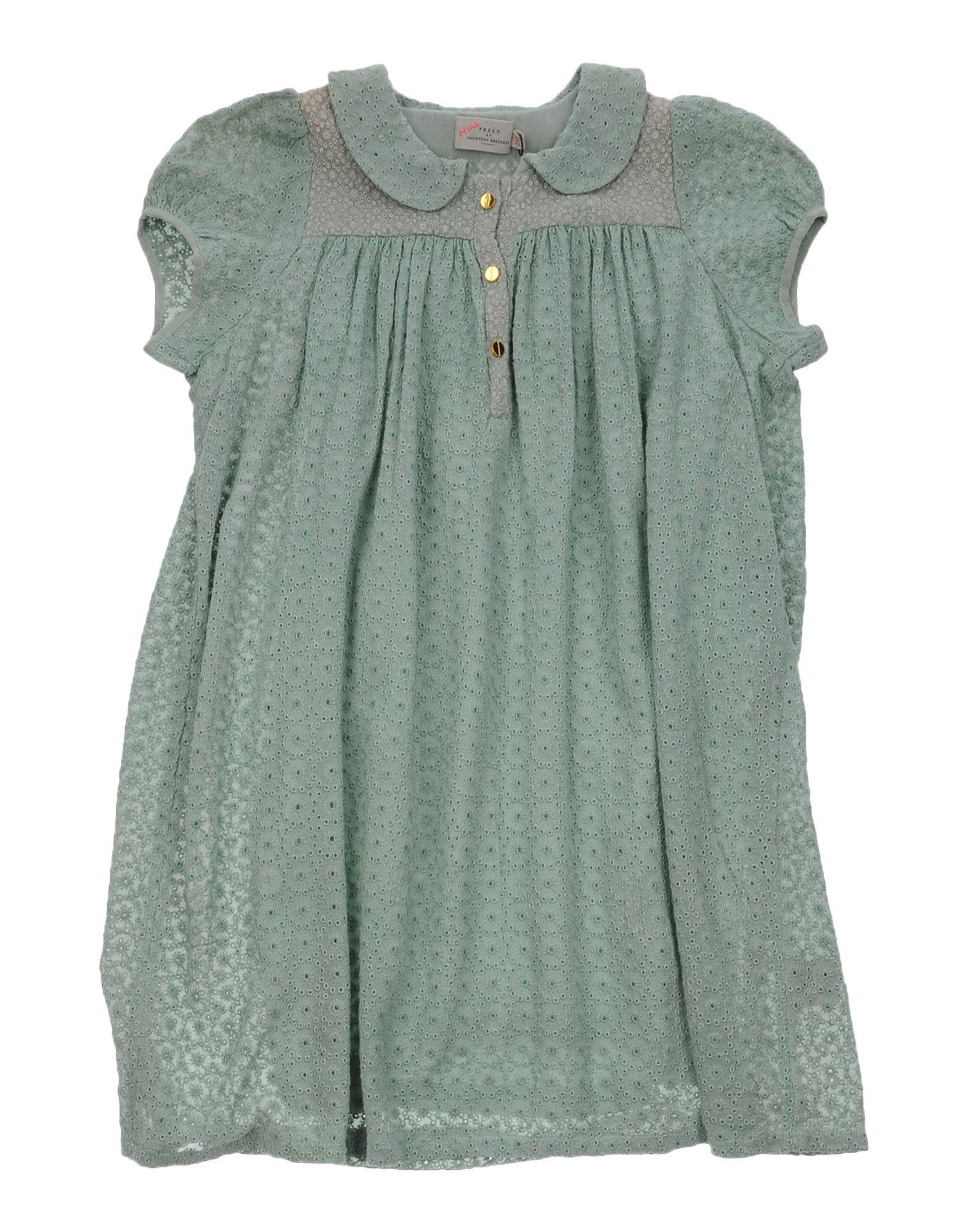 PREEN by THORNTON BREGAZZI Mädchen 9-16 jahre Kleid Farbe Säuregrün Größe 2