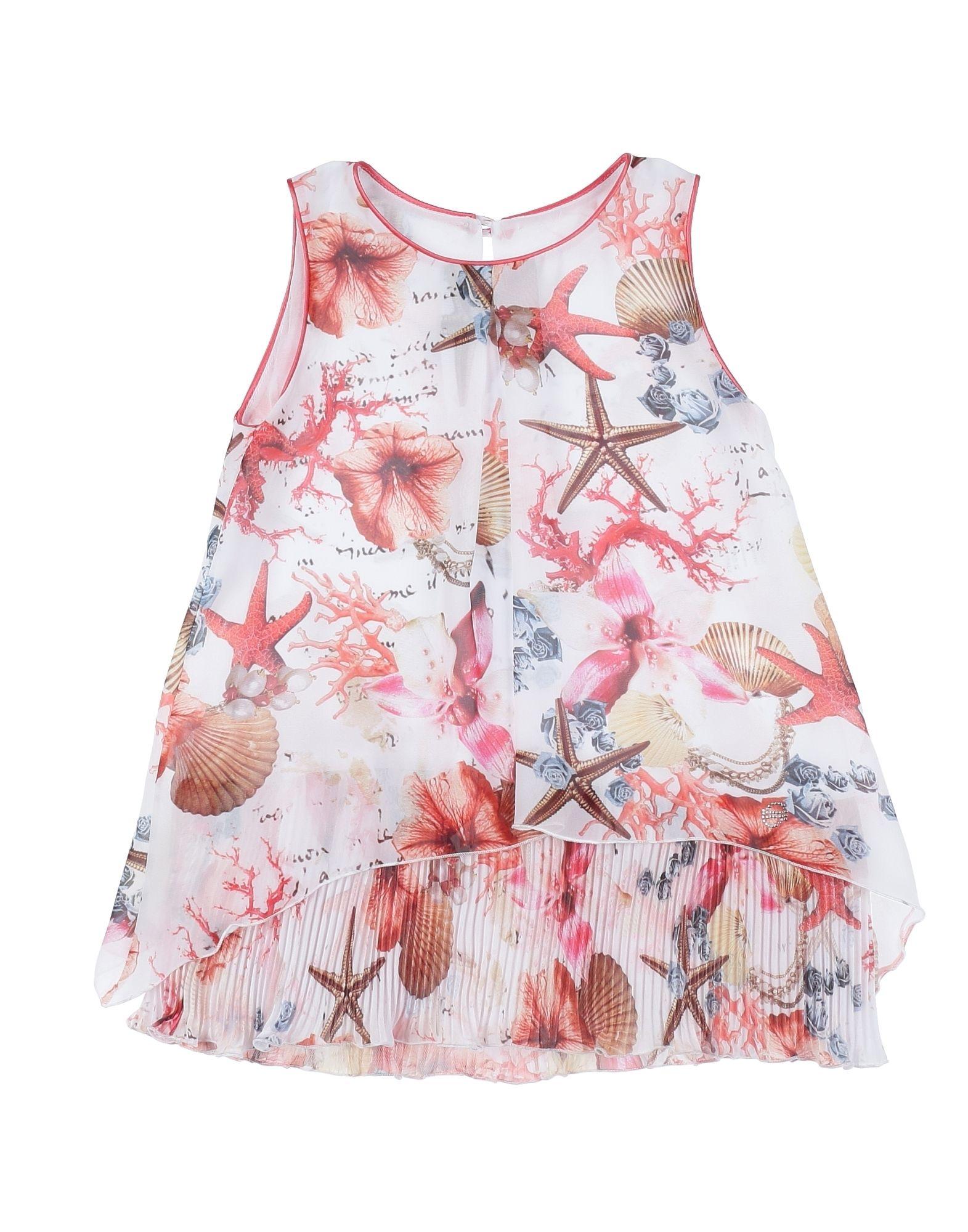 BYBLOS BOYS & GIRLS Платье футболка для девочки bj6572 разноцветный byblos