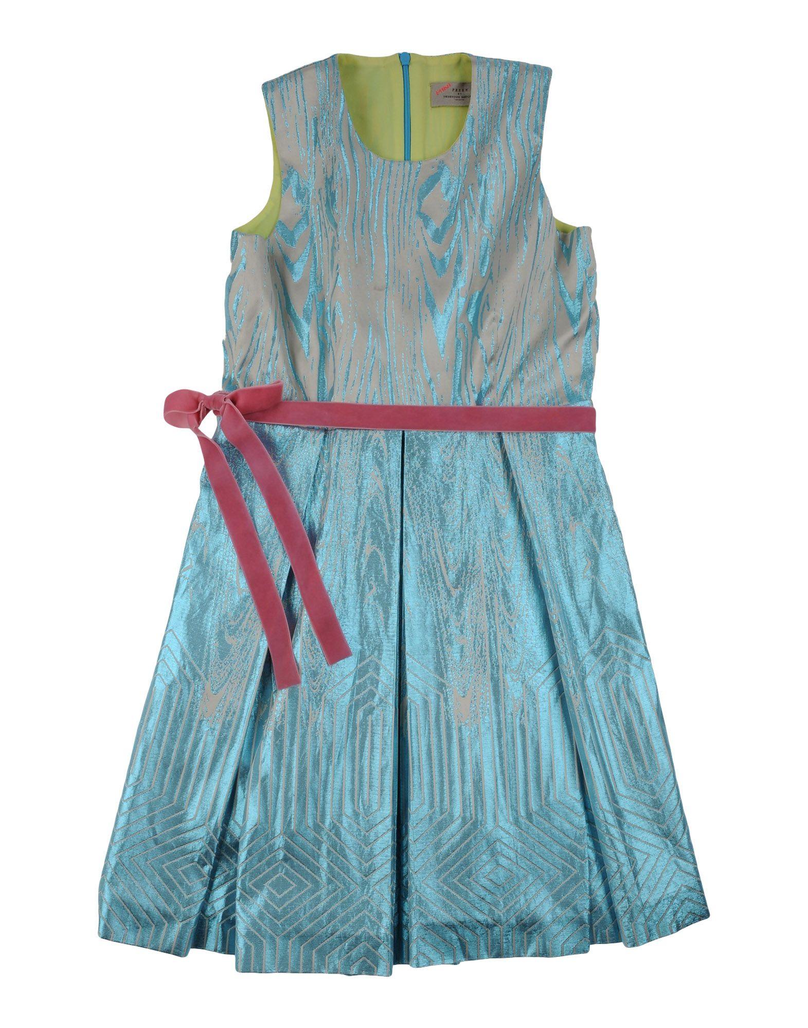 PREEN by THORNTON BREGAZZI Mädchen 9-16 jahre Kleid Farbe Azurblau Größe 2