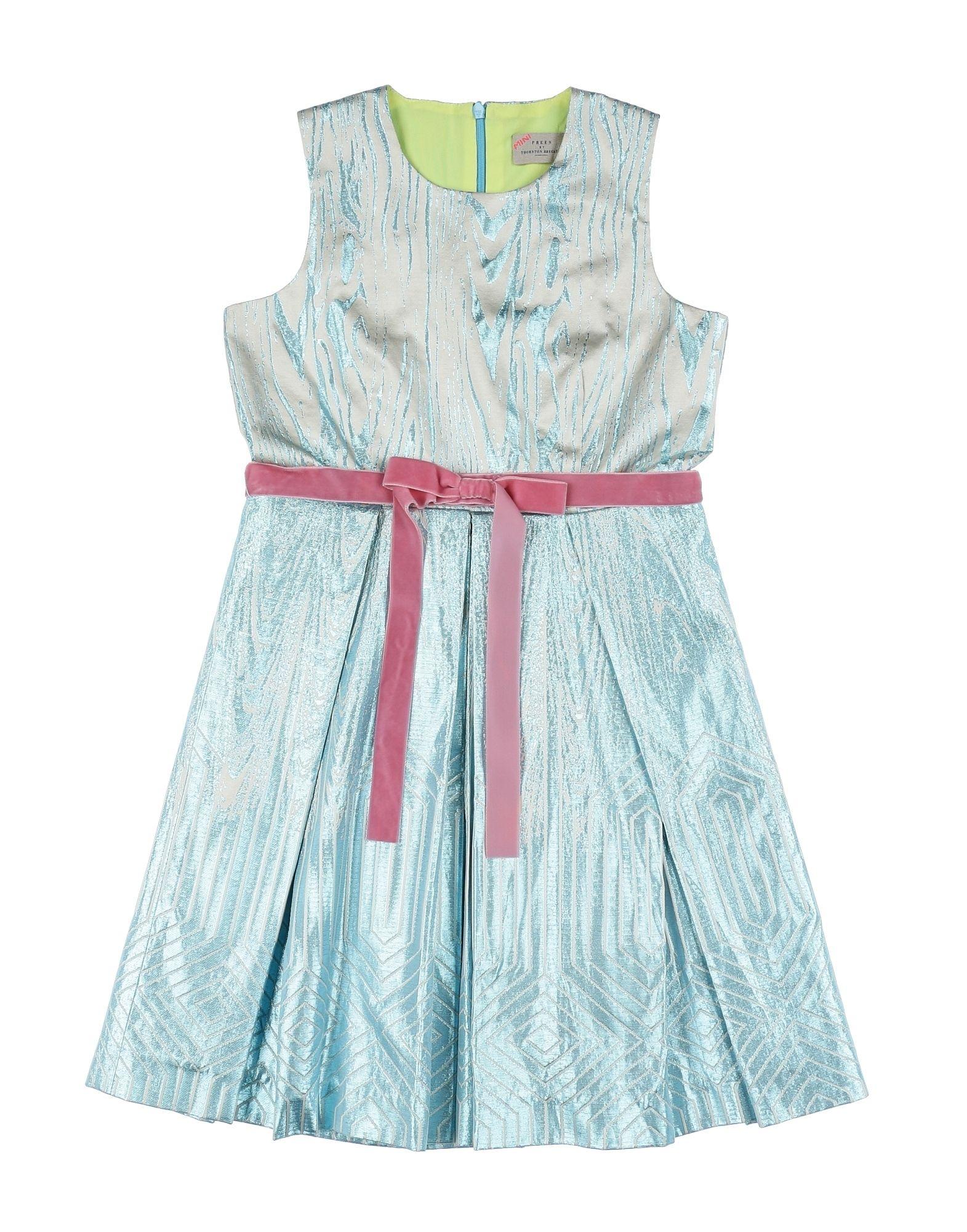 PREEN by THORNTON BREGAZZI Mädchen 3-8 jahre Kleid Farbe Azurblau Größe 6
