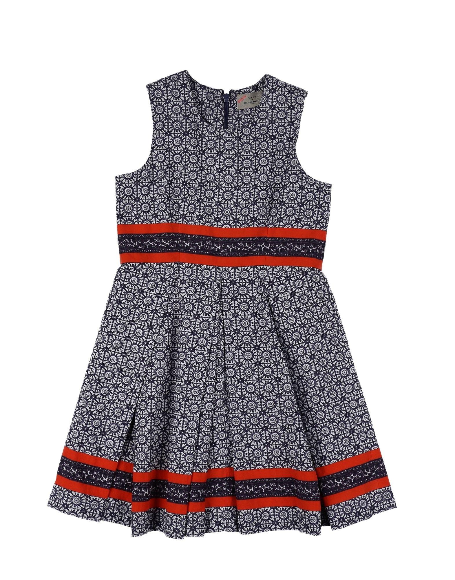 PREEN by THORNTON BREGAZZI Mädchen 3-8 jahre Kleid Farbe Dunkelblau Größe 4